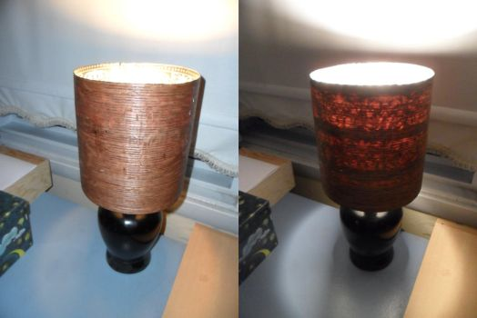 Nightstand Lampshade by kayanah