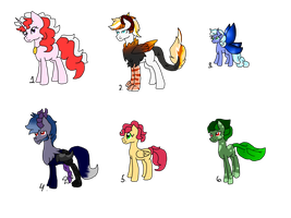 Random Adopts [Open] by DreamCloudAdopts