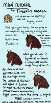 Timekin Mane strands Tutorial by WhiteLionsOrchard