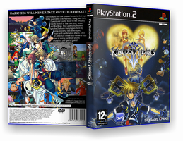 Kingdom Hearts II custom cover by nakashimariku