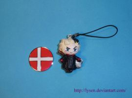 Denmark cell phone charm by lysen