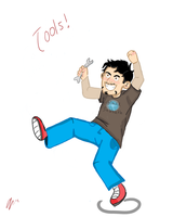 Imma Tool. by AreLei