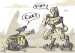 WALL-E meets GRIEVOUS by VeloLagoon