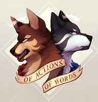 Of Action And Of Words by shinotori