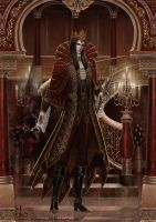 Dark Lord, stylish aristocrat by Irulana