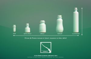 Potions and Poisons Package for Ucraft by Arx-Design