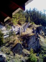 Dam stairs by Robear
