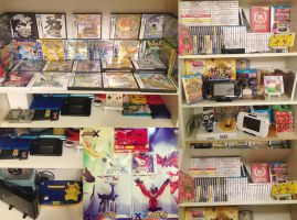 My video game collection 2 by aoao2