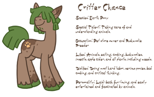 MLP Earth Pony OC Critter Chance by The-Clockwork-Crow