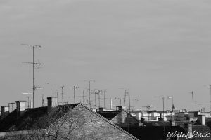 Rooftop blues by labeled-black