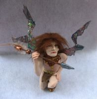 Andor Hunter Woodland Male Fairy by gossamerfae