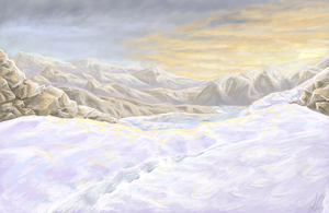 Snowscape by Inaara