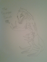 The Scorpio Beast by Red-Elsen