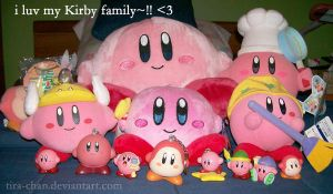 extended Kirby family xD by tira-chan