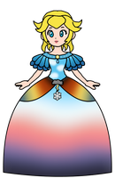 Peach - Weather Dress by KatLime