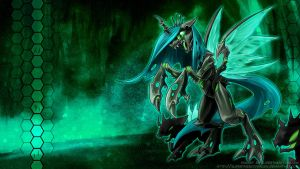Queen Chrysalis - the hive by slifertheskydragon