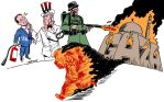 US Thwarts UN Gaza Ceasefire by Latuff2