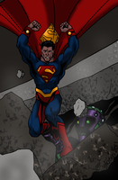 Supes Smash by Joe-Singleton
