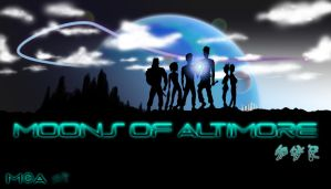 Moons of Altimore Title Screen by ScreenMantis