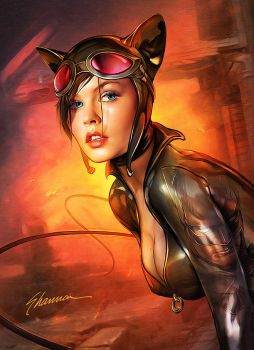 Catwoman By Shannon Maer by epicheroes