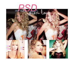 make your own love PSD by ifeelhypnotised