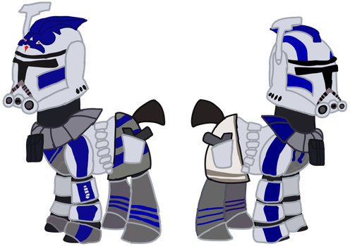 Fives and Echo as ARC Trooper by Ripped-ntripps