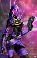 Tali'Zorah by WiL-Woods