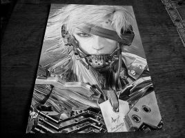 photo Raiden Metal Gear Rising:Revengeance by SamAnimeMangaFR