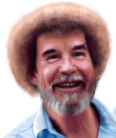 The Joy of Painting Bob Ross by Carltheshivan