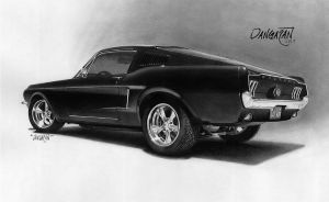 '68 Fastback by dangaranart