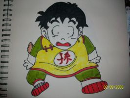 Suprised Gohan by bulmabriefs1313303