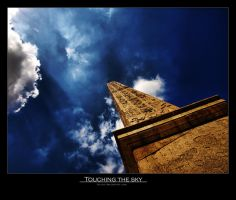Touching the sky by Leitor