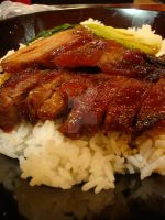 Fairwood BBQ Pork on Rice by amyhearts2sing