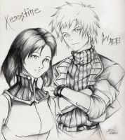Wade with Xenostine by WadeVesecha
