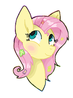 Messy Fluttershy by LeChicoMess
