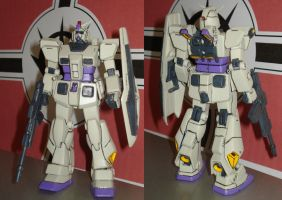 RX-78-3+ Gundam G3+ Front and Back by dog42a
