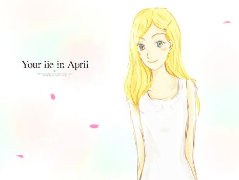 (Your Lie In April) A Colorful Lie by KurotsukiKurotsuki