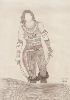 Charcoal Prince of Persia by MEAltair