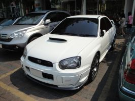 White Impreza II by gupa507
