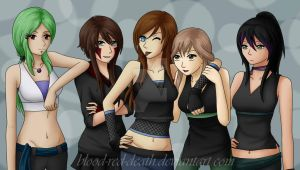 Where them girls at!? by blood-red-death