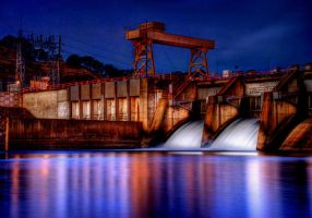 Disco Night at the Dam by TchaikovskyCF