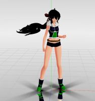 MMD//request - Blackberry OC by CogetaCats