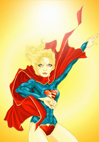 Supergirl by batcheeks