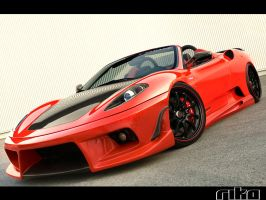F430 Red Black by RikaDesigner