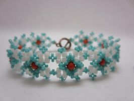 Beaded Lace Bracelet by taichiorange