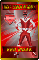 Red Mask by rangeranime