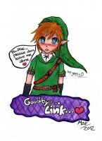 Skyward Sword - Time to Say goodbye by Jens-kun