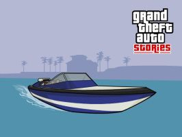 GTA Stories Vice City Boat by and0n
