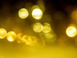 Yellow and natural bokeh by iuliana13
