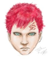 Gaara of the Sand by jmk1999